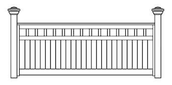 Westbury Fence Panels