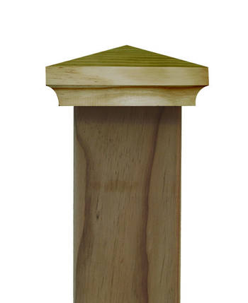Classic PYRAMID post top to suit 100x75mm posts