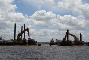 completed dredging projects