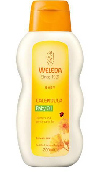 Weleda Calendula Baby Oil - Delicately Scented