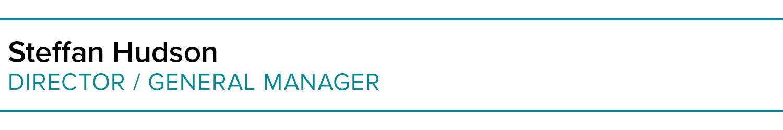 Steffan Hudson | Director / General Manager | Holloway Hudson Burgess