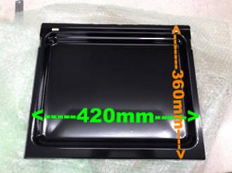 Fisher Paykel Elba Oven Rack Shelf Or Tray Roasting Dish kit bi602, bi601, ra6102, 420mm x 360mm,