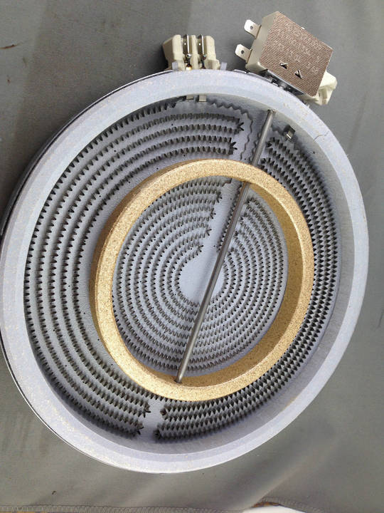WESTINGHOUSE SIMPSON ELECTROLUX COOKTOP DUAL CERAMIC COOKTOP ELEMENT 2u605, 2U606, 2U608, 3U605W, 3U606W, 3U608W