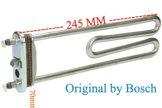 Bosch Washing Machine Element Heater original WAE22462 WAE22463AU/24, WAE22462AU/01, WAE24462AU/29, WAE24462AU/24,