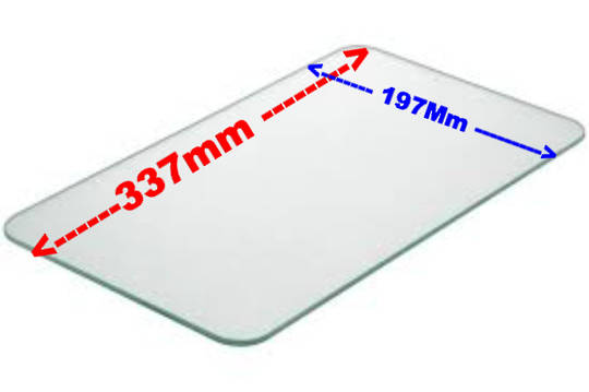 Bosch Microwave oven inner Door Glass,