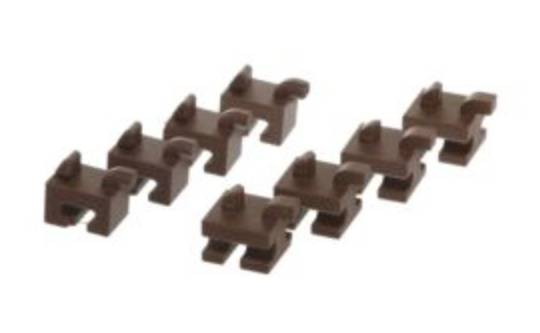 BOSCH ceramic holder set (4x front, 4x back) for microwave grid In case of change replace all 8 ceramic holder,
