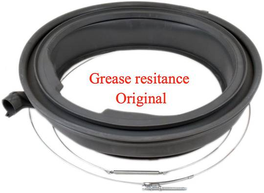 Bosch washing machine Door Seal front loader boot gasket without ligthing nozzle F20 (NBR) grease resistant,
