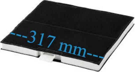 Bosch Rangehood Carbon Filter DWW098E50A/03,