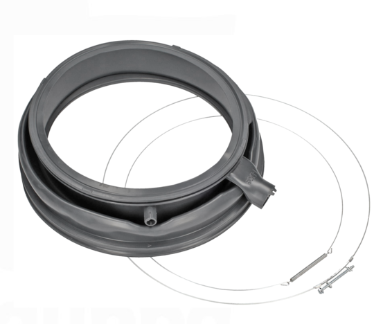 Bosch and Siemens washing machine Door Seal front loader boot gasket WAY32840AU,  with lighting nozzle **72661
