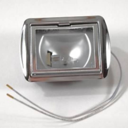 Smeg and Omega RangeHood Halogen Lamp Assy RECTANGULAR 12v 20w K39L, K39L, k20.20, k20,