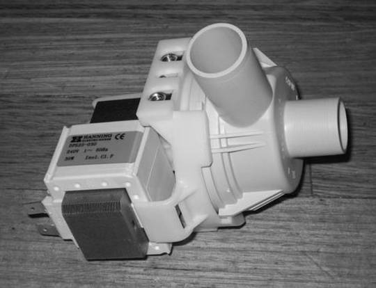Simpson Westinghouse Electrolux Washing Machine Drain pump outlet pump 500MB*01, 550MB*01, 600MB*01, 800ELC*01, 36S605N, 9130410