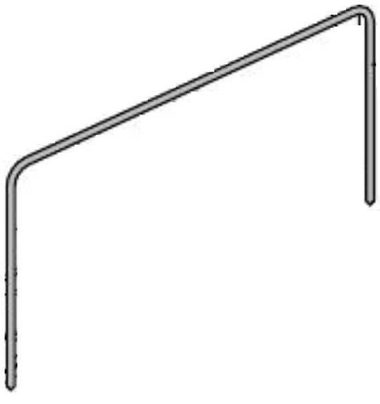 Delonghi oven Seal door gasket 3 sided D906GWF Also fits some Kleenmaid FEG900X, FEG905