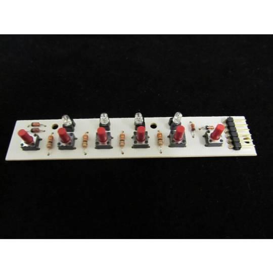 Smeg Rangehood Pcb Display Board Push switch GI 198 L, GI198l60, GI198L90, G1198l, k111, k112, k160, k273, k274