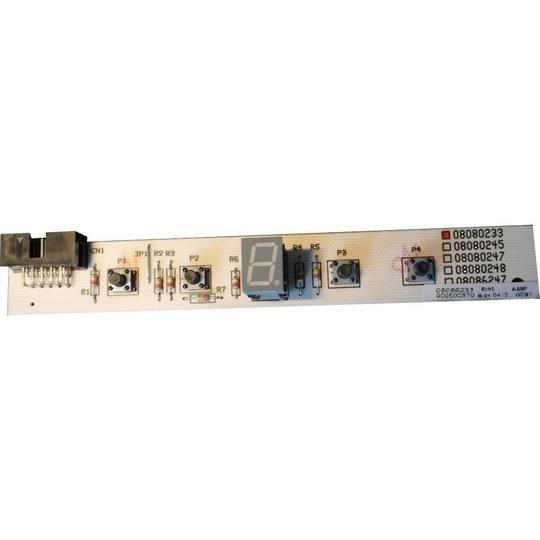 Smeg Rangehood Pcb controller Board KK7088, KK 7088, *86233