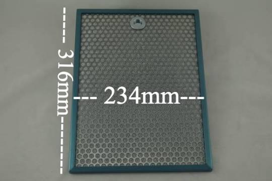 SMEG RANGEHOOD FILTER k20.2.2xsa60, DUNE, SBGLOSSPLUS, IS181 316MM X 234MM