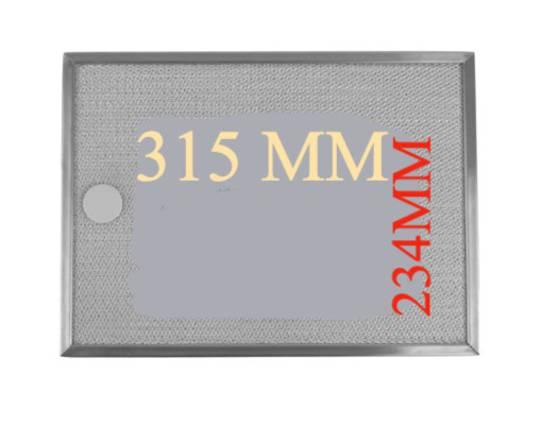 Smeg Rangehood Aluminium filter K20l, 89.K4L,