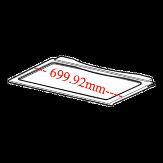 Electrolux Fridge Glass Shelf Uppereh e5167sb, 699.92 x 386.89mm