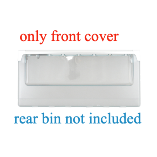 Westinghouse Electrolux Veggie Bin front Cover WSE6970SF, No longer available.