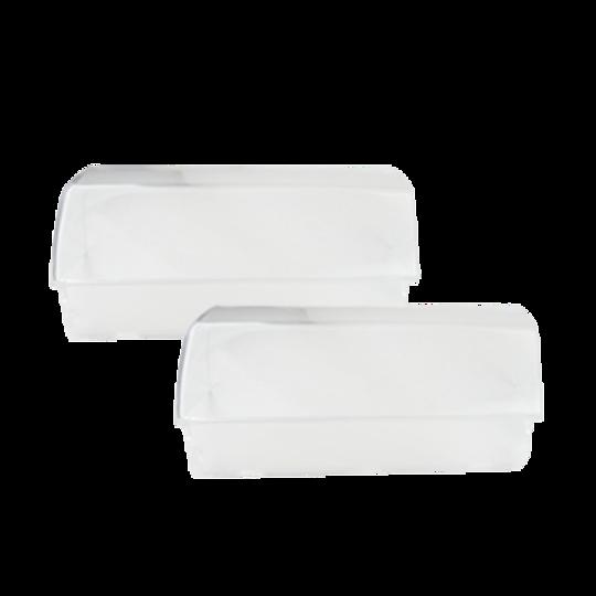Westinghouse and Simpson fridge Dairy lid door shelf cover left and right RJ446V, RJ425V, RJ442V, RJ443V, RJ445V, BJ383V, BJ385V