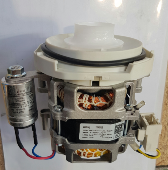 Nouveau Dishwasher Wash Pump Wash Motor ND60w1, ND60SS1,