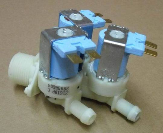 Beko Washing Machine cold inlet valve WMB81641LC, WMB651441,