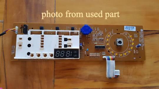 LG Washing Machine Display Assy WD14022D6, Display board before May 2015,