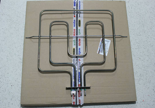 Euromaid or Beko Oven Grill Element  BMWH7, BMWH8, BMSS8, SC600, type 1