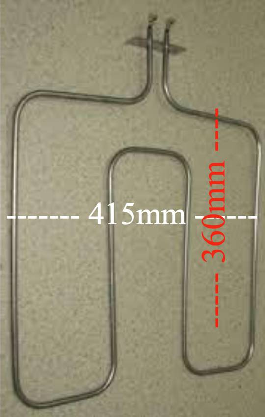 Beko Oven Bake element CSM87300, New version 5 a18 0162,