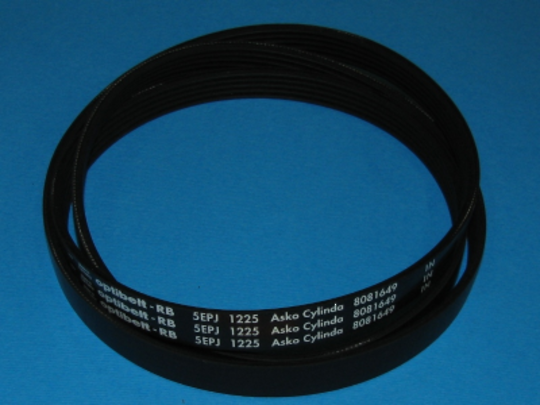 Asko Washing Machine BELT MOST MODEL J5 1225, 12250J5, J51225, WM70.1, WM70.2, WM70, W6564