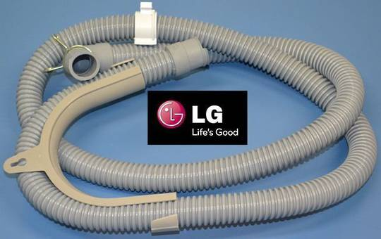 LG washing Machine OUTLET HOSE WFT6572, WTH5550, WTH650, WTH750, WT-H550, WT-H650, WT-H750, WT-H755, LGW455, WTH650, WTH750, WTH