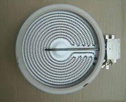 Baumatic BK10B Ceramic cooktop Element Small 1200 watt, 165mm,