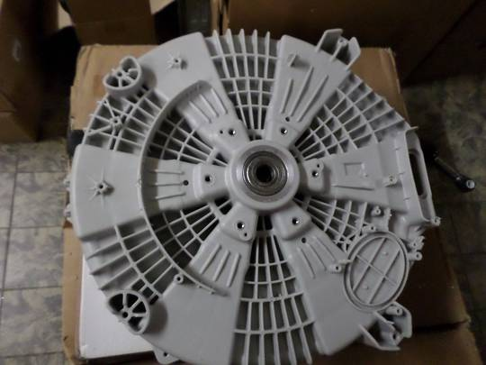 LG Washing Machine outer drum assy including bearing and Shock absorber Assy LG WD11020D, LG WD14022D6,