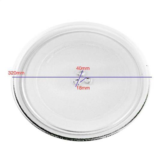 omega and Blanco Microwave glass Plate Tray, MF34CX, MF34STX, MF34SX, OA138X