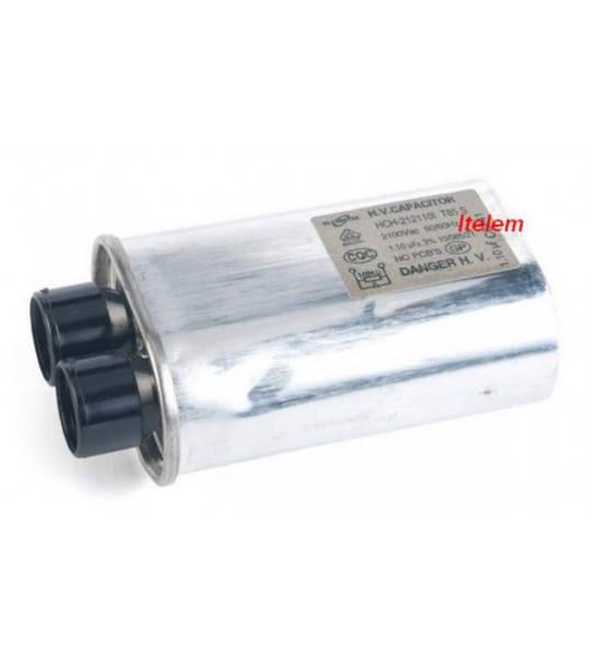 Smeg AND OMEGA Microwave Capacitor HV 2100VAC 1.10μF #187 (KOR-1B4H0A)