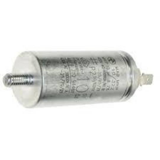 Universal dryer and washing machine and dish washer capacitor Metal Case 10uf, 450v,