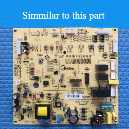 Nouveau Fridge PCB MAIN ASSY HC-698WE, CLF580SS, *004V
