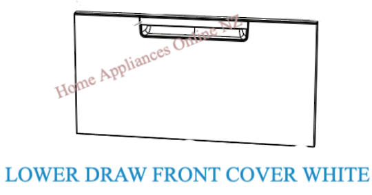 Fisher Paykel Dishdraw Dish Draw Lower Draw front Cover including Handle DD60DAW9,