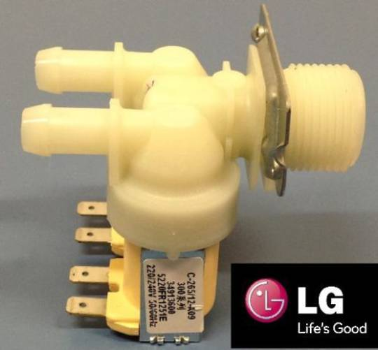 LG Washing Machine Inlet Valve AssyLG WD-1018C,LG WD-1274FHB,LG WD-8013F,LG WD13020D1,LG WD14130D6,LG WD14135D6,