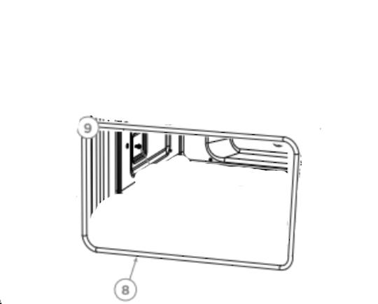 Delonghi Elba Fisher Paykel oven Door Seal upper oven OB60NC7CEX1,