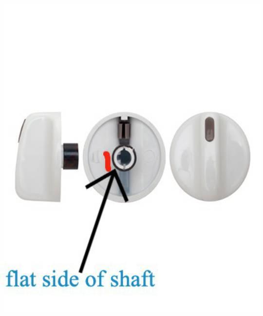 Fisher paykel wall oven Knob White BI600E, BI600A, BI600S, BI600ED, BI1450A pack of 4