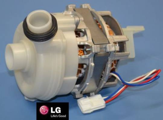 LG DISHWASHER WASH MOTOR WASH PUMP ASSY,