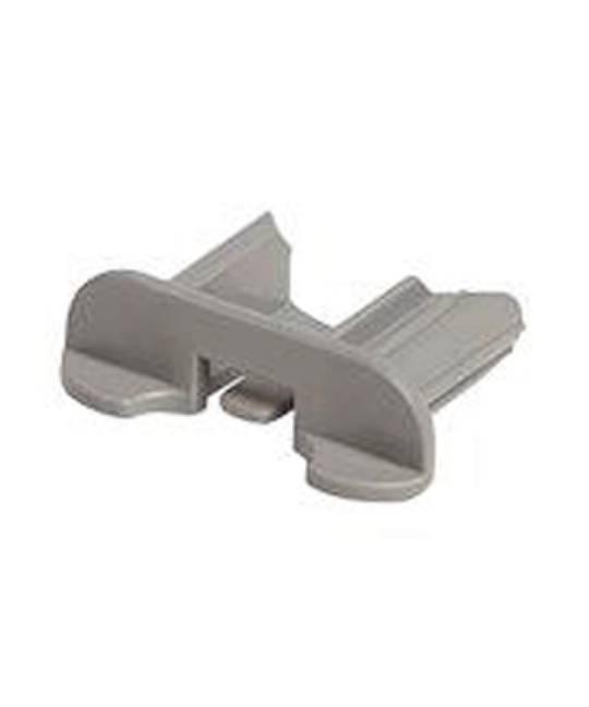 Baumatic  Dishwasher End cap for upper basket rail Bkd46s, bkd46w,