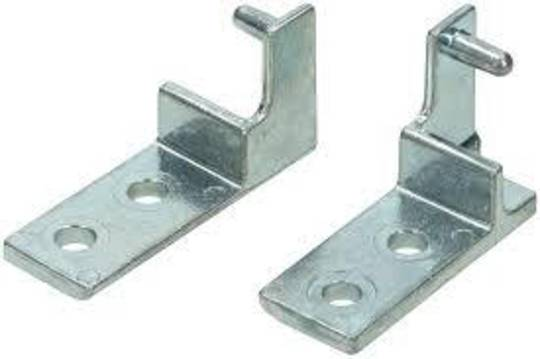 SMEG OVEN WARMER DOOR HINGE SNZ60MFSS, Left and Right