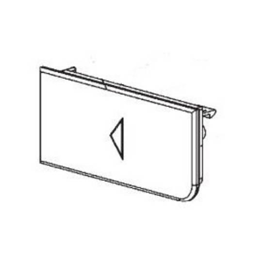 SMEG Microwave Door DOOR PUSH BUTTON FME120NZ,