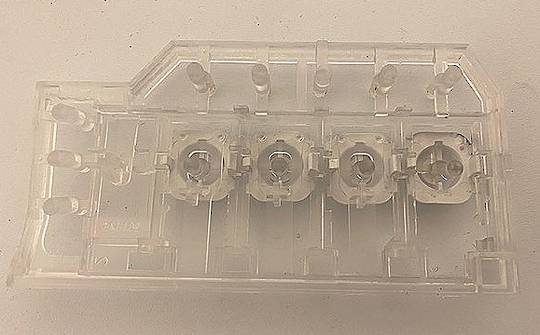 Fisher Paykle Washing Machine function switch bracket WH60F60W3, WH60F60WV1, WH60F60W2,