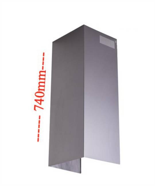 Fisher Paykel Ranghood Ventilation Kit Chimney H740mm x W215mm x D198mm HC60P HC90P & HS90CS,