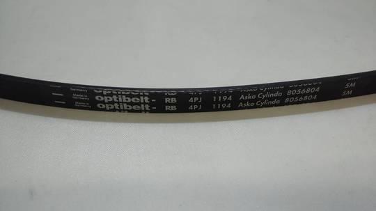 Asko Washing Machine Belt wm90a, 10505, 1200j4, j4 1200, 4PJ 1194, wm9005,