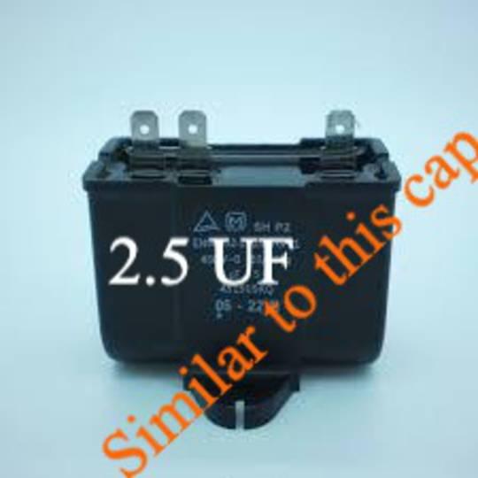 Fisher Paykel Fridge or freezer Capacitor 2.5UF, 2.5 UF,  *4811