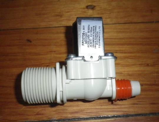 Simpson WASHING MACHINE HOT WATER INLET VALVE SWT5541, SWT6041, SWT6541, SWT6541M. *72201