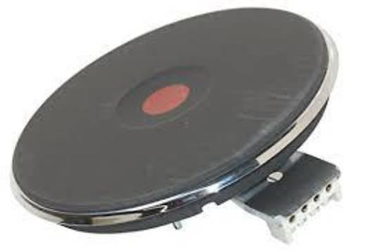 Ariston cooktop solid element large  PI604,  180mm 2000 watt  spill rim 4mm, large